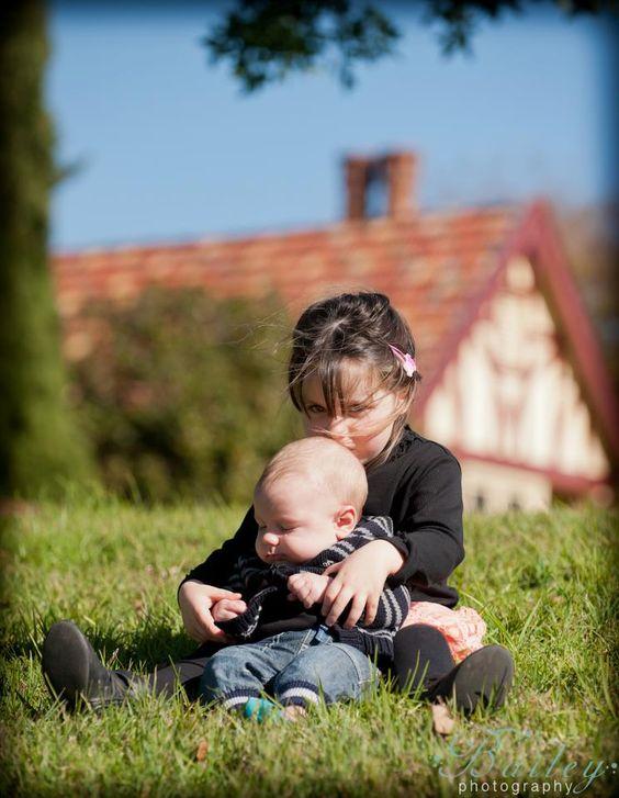 Cousins gotta hug.... and kiss