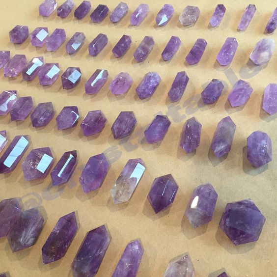 """708 Likes, 31 Comments - 2 W 14th STREET NEW YORK, NY (@crystaltable) on Instagram: """"🔮Amethyst Wands🔮 DM us for more pictures OR Find it at @namastebookshop @namastebookshopbk 2 West…"""""""