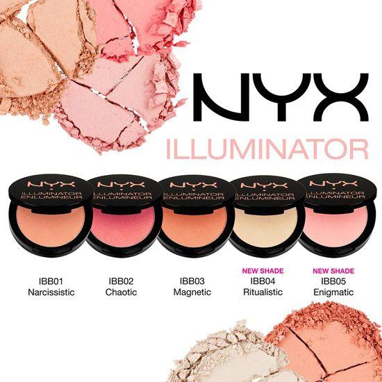 NYX Illuminator. Perfect for spring Nyx Narcissistic