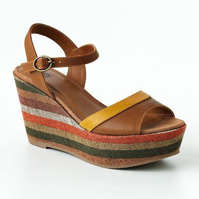 SO Platform Wedge Sandals
