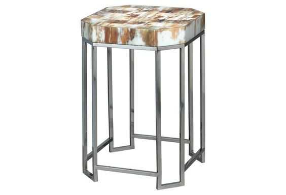 Small Octave Side Table, Gray