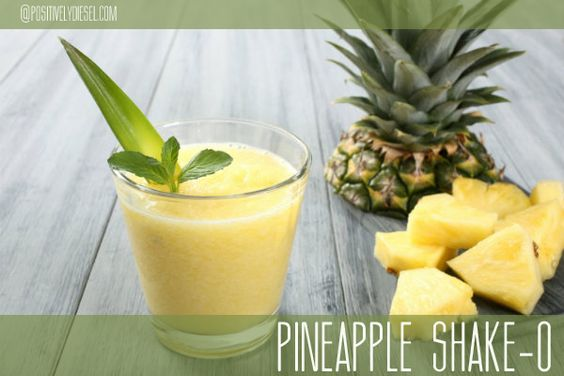 Pineapple Shakeology Ingredients: 1 Scoop Vanilla or Greenberry Shakeology 8oz coconut water or non-dairy milk (i.e. Almond, Hemp, Cashew) ½ Cup Fresh or Frozen Pineapples 1 Pineapple Greek Yogurt ¼ – ½ Cup Ice Instructions: Place ingredients and ice in blender; cover. Blend until smooth. *What is Shakeology? Shakeology truly is NUTRITION SIMPLIFIED http://www.shakeology.com/positivelydiesel