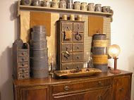 taylors*farmhouse*attic--love the colors of the shaker boxes: Country Primitive, Handmade Primitives, Primitive Colonial Gatherings, Primitives Smalls, America S Primitives, Primitive Colonial Country, Primitives For Today, Primitive Blogs, Loves Primitive