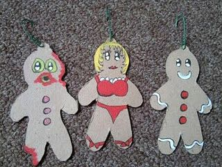 #DIY Gingerbread Zombie Ornament Tutorial