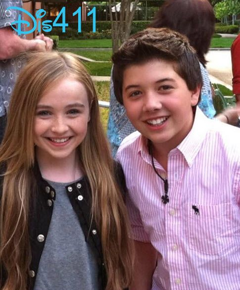 Flashback Friday Photo: Bradley Steven Perry . It's so cute that they knew each other way back before they started dating!