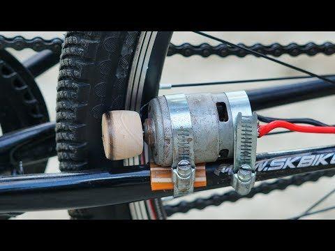 How To Make Electric Bike Using 775 Motor Youtube In 2020 Electric Bike Electric Bike Diy Diy Electric Skateboard