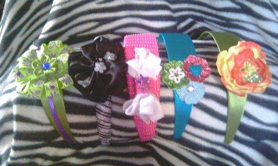 Headbands assorted