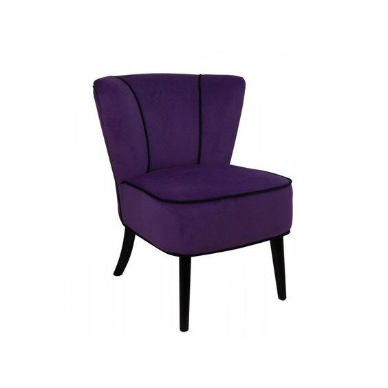 Petit Fauteuil Violet