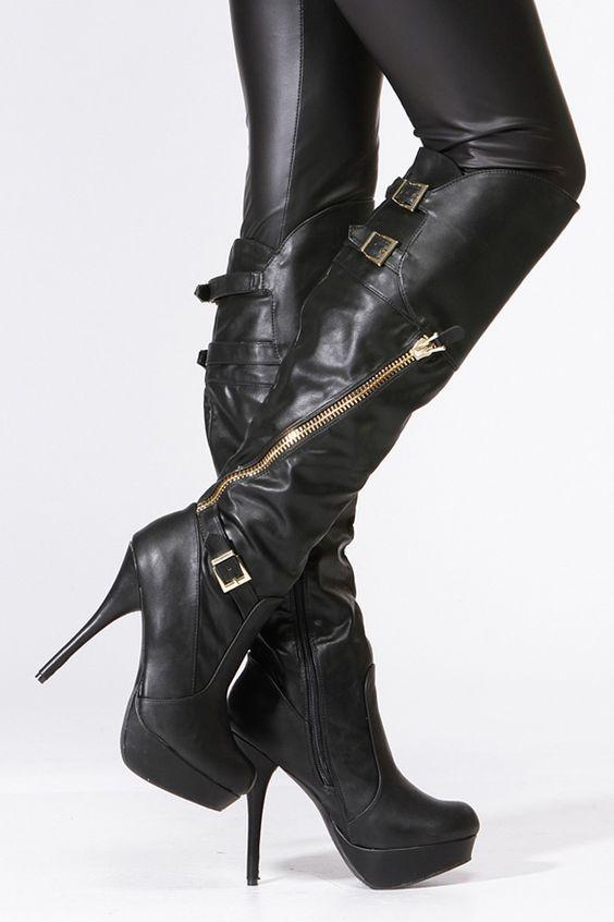 Dizzy Stiletto Boots