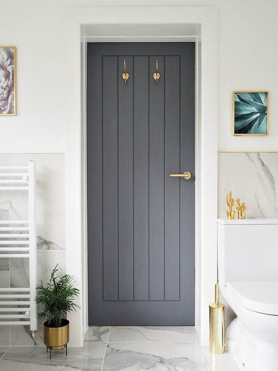 30 Best Bathroom Door Ideas 2020 For Your Bathroom Dovenda Modern Bathrooms Interior Simple Bathroom Decor Bathroom Design