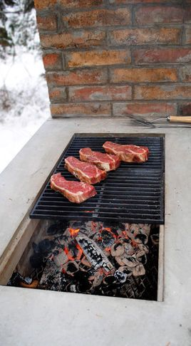 grilling out! what a neat idea!