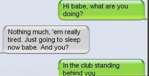 Girlfriend Text Fail
