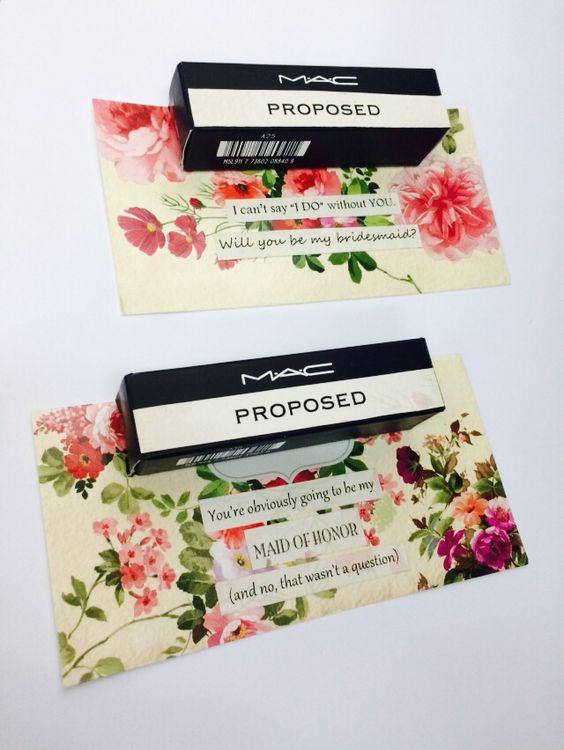 Maid of honor/Bridesmaids proposal