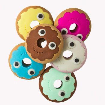 YUMMY Donut Eraser 6-Pack - $5.95