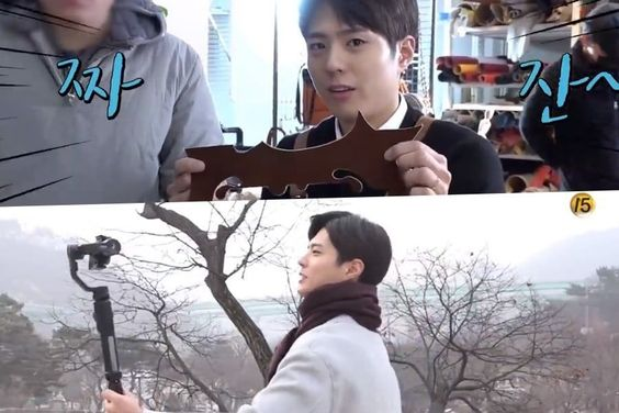 "Watch: Park Bo Gum Shares Silly Behind-The-Scenes Moments During ""Encounter"" Filming"