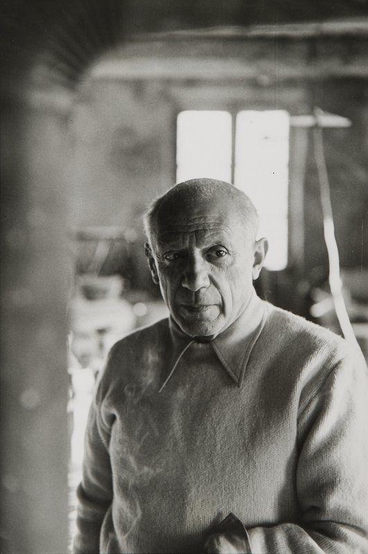 Henri Cartier-Bresson, Pablo Picasso, 1953 - Cultea