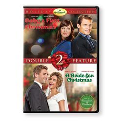 Baby's First Christmas and A Bride For Christmas Hallmark Channel DVD Set