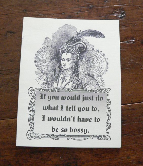 Note card funny if you would just do what i tell you to i wouldn t