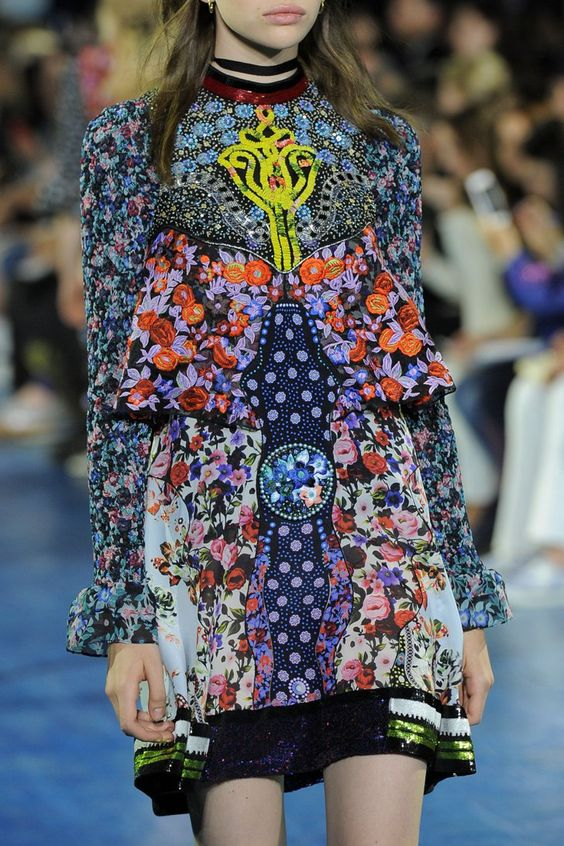 Pin for Later: All the Details You May Have Missed at London Fashion Week Mary Katrantzou Spring 2016