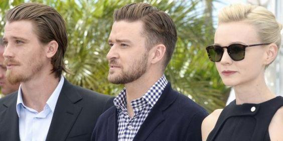 "Garrett Hedlund, Justin Timberlake et Carey Mulligan posent pour ""Inside Llewyn Davis"" des frères Cohen."