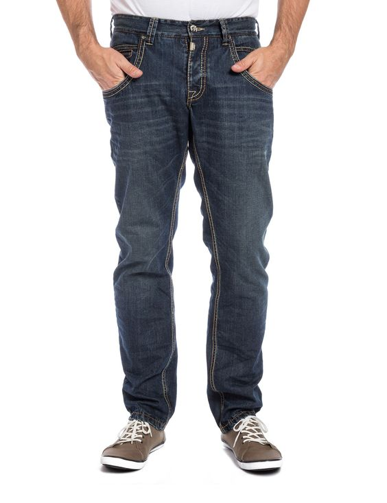 "TimeZone Jeans: HaroldTZ rough ""3315 light ink"""