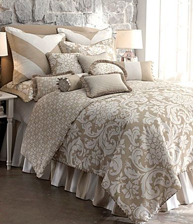 More Neutral Bedding Rose Tree Kipton Collection From Dillards Master Bedroom Makeover