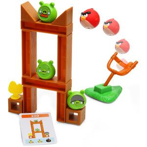 Angry Birds Knock on Wood {off the screen and into your living room}