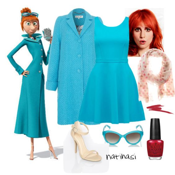 """""""DIY Halloween Costume: Lucy Wilde from Despicable Me 2"""" by natihasi on Polyvore"""