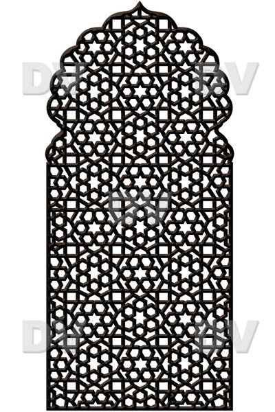 ds258 sticker moucharabieh deco vitres adh sif inde pour calligraphie pinterest stickers. Black Bedroom Furniture Sets. Home Design Ideas