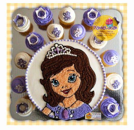 pastel princesa sofia de betun - Buscar con Google