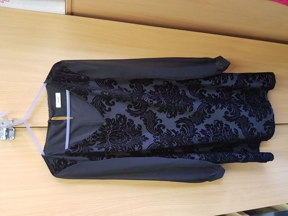 Ladies Black Chiffon sleeve Evening Dress by Yessica Party Dress Check out Charlie Cookson on Ebay for more bargains