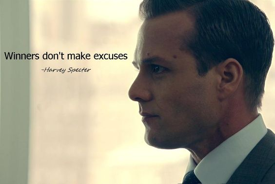 Winners don't make excuses. #business #marketing #suits