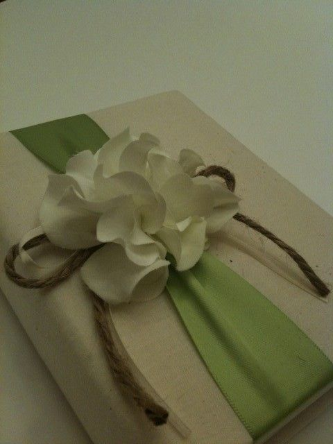 Green ribbon and romantic white hydrangeas: Pale Green, Apple Green, Wedding Photo, Hydrangeas Green, Green Ribbon, Hydrangea Green, Green Wedding