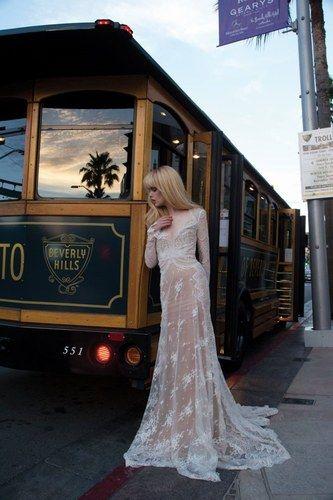 Un vestido de cuento de hadas para una novia romántica