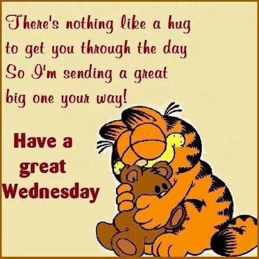 Image result for wednesday hugs