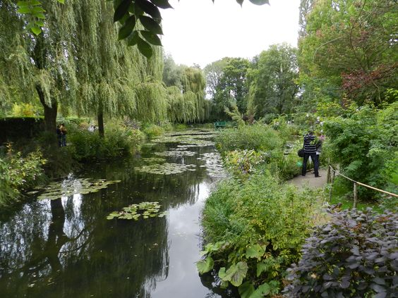 Monet's water garden at Giveny France