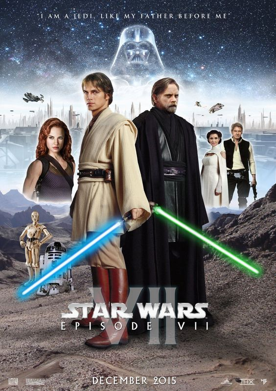Star wars episode 7 poster star wars episode vii poster by nei1b on
