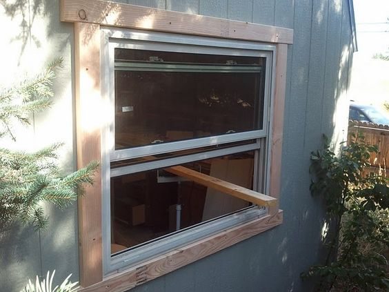 I have a simple shed that I use as a workshop. Working in my shop I realized that a window would allow me to have a breeze in the summer, and bring in sunlight in the winter. My budget is $100, and I'm not particular about insulation, building codes, or weatherproofing, which is good, because I really didn't insulate, meet any codes, or provide safety from the weather at all. The end result is functional, and safe, but you really shouldn't follow these instructions for any structure you…