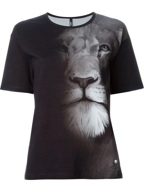 Versus Camiseta Com Estampa De Leão - Versus Versace - Farfetch.com