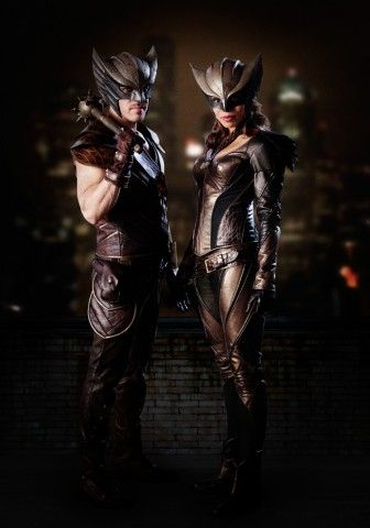 DC Gives a First Look at Hawkgirl and Hawkman in CWs Legends of Tomorrow - Destined to be awesome.