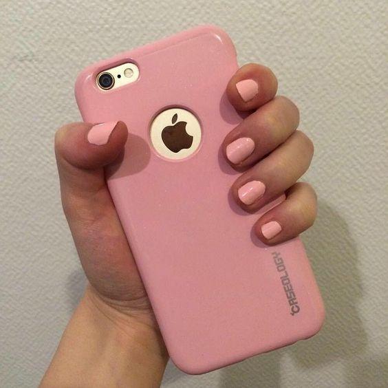 #nails #matching #phone #case #iphone6 #caseology #pink #blogger#status #matchymatchy #notonpurpose #monoprix #nailpolish #10 #rosedragée #france #french #drugstore #makeup by narehk