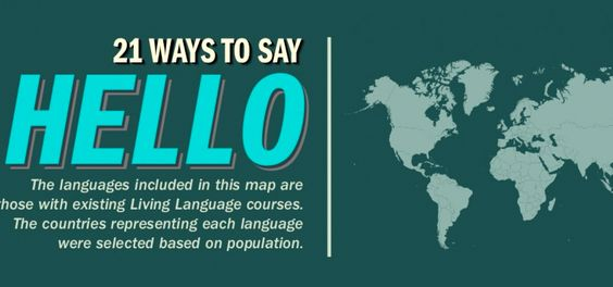 how to say hey in different languages