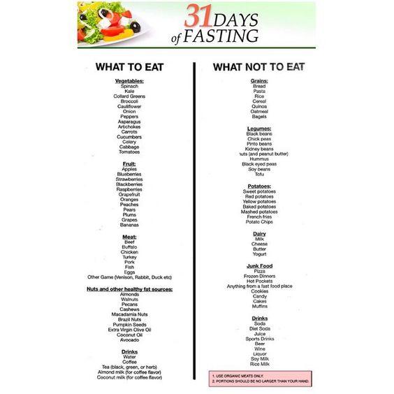 Lite fasting