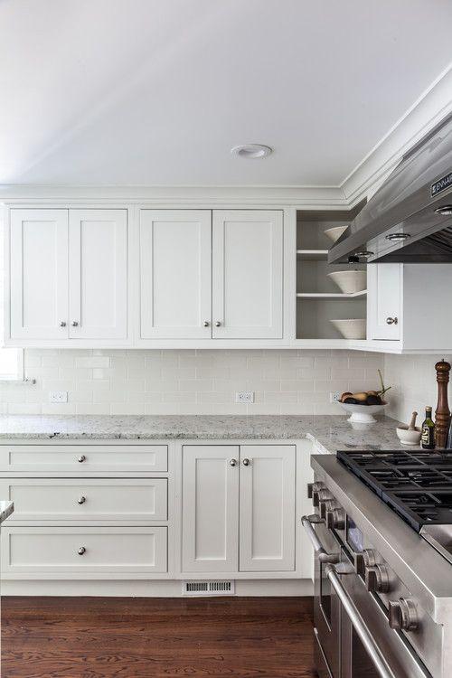 Princeton Kitchen Starmark Cabinetry Door Style Fairhaven Wood Maple Finish Dove White Luxury Kitchens Kitchen Transitional Transitional Kitchen