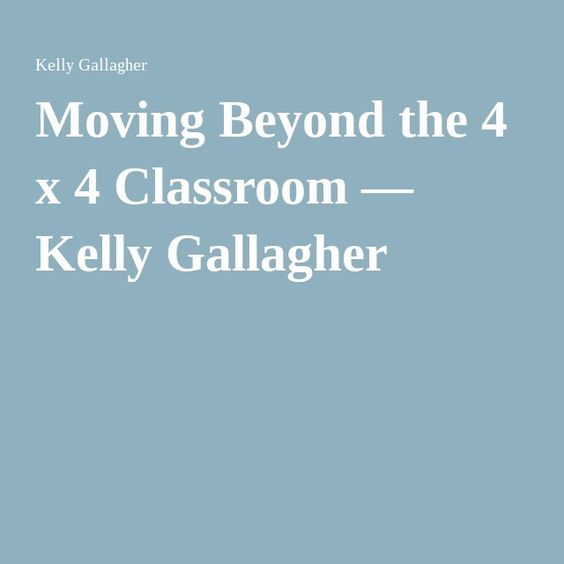 Gallagher argues that teachers should spend less time grading. Instead, teachers should spend more time conferring with students and modeling the writing process in front of them.