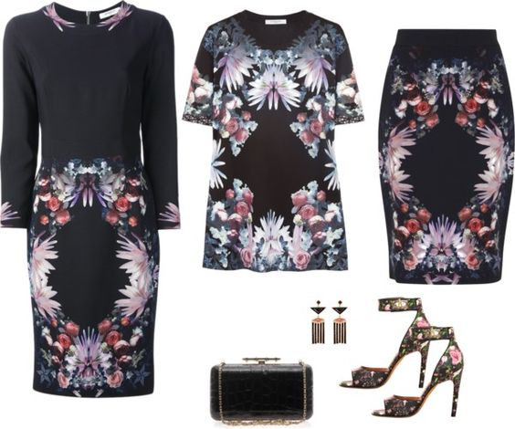 SevenRoses: Givenchy, Floral Print Dress