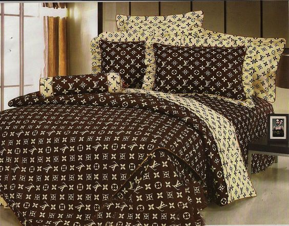 Cheap louis vuitton bed sheets in 9889 69 usd ib009889 for Bedroom set and mattress
