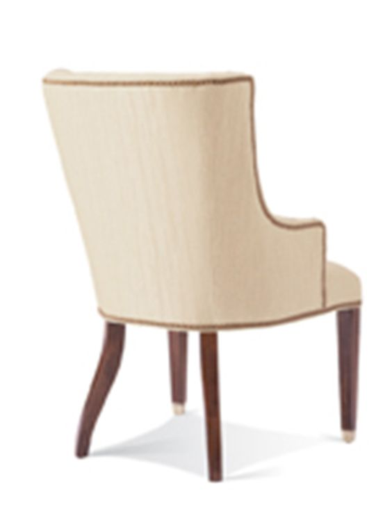 Hickory White Upholstered Arm Chair 421-65