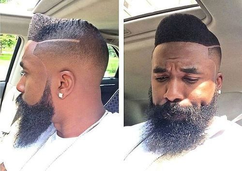The Pompadour Hairstyle for Black Men