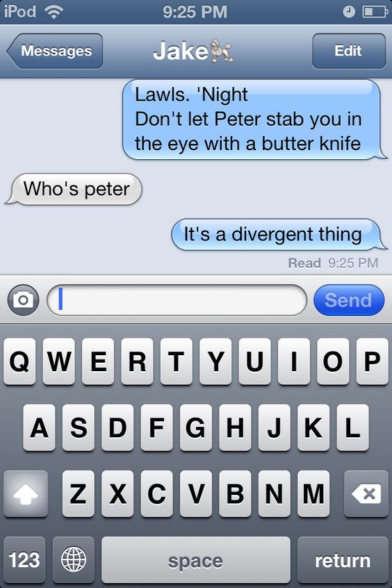 """""""It's a Divergent thing..."""""""